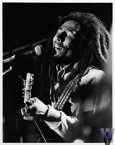 Bob Marley in concert