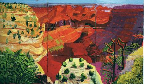 CANVAS~grand canyon 1998