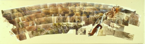 David-hockney-Grand-Canyon-South-Rim-with-Rail