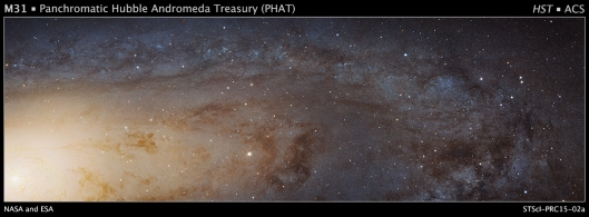 andromeda galaxy large