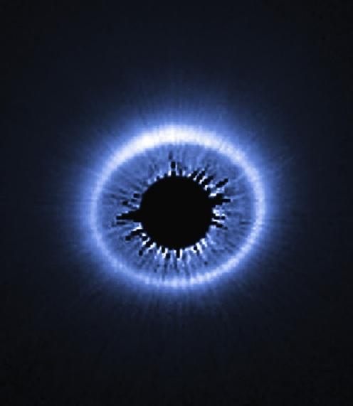 debris disk around starsHubble